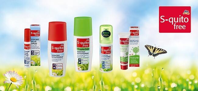 Xịt chống muỗi và côn trùng cắn S-quitofree