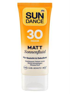 Kem chống nắng Sundance Matt Sonnenfluid Spf 30, 50 ml