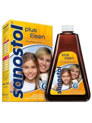 Sanostol Số 6 Bổ Sung Vitamin + Sắt 460 ml