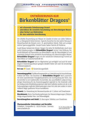 Thuốc Giảm Cân Schaebens Birkenblätter Dragees, 35 Viên