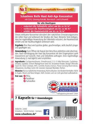 Viên nang Schaebens Reife Haut Konzentrat, 7 viên