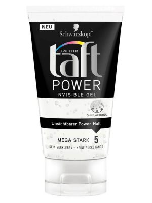 Gel Vuốt Tóc Taft Power Invisible Gel, 150 ml