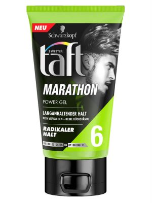Gel vuốt tóc Taft Marathon Power Gel, 150ml