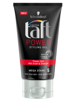 Gel Vuốt Tóc Taft Power Styling Gel, 150 ml