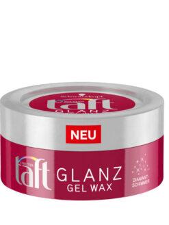Sáp Vuốt Tóc Taft Glanz Gel Wax, 75 ml