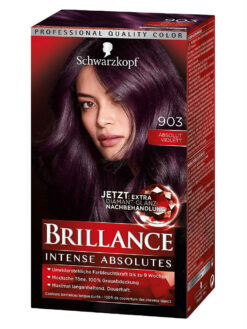 Thuốc Nhuộm Tóc Brillance Intensiv Color Creme 903 Màu Tím, 143 ml