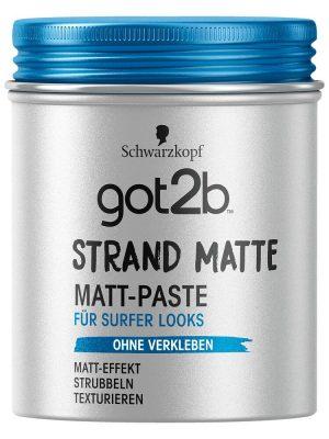 Schwarzkopf got2b Matt-Paste strand matte, 100 ml