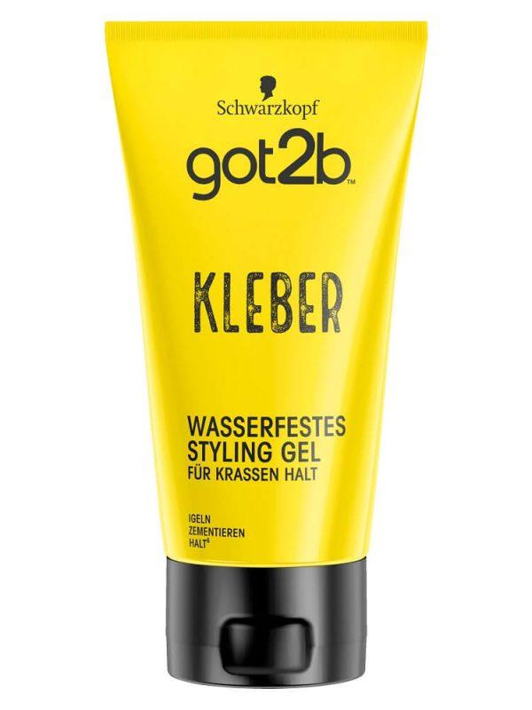 Gel vuốt tóc Got2b kleber wasserfest, 150 ml