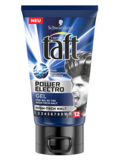 Gel Vuốt Tóc Taft Power Electro, 150 ml