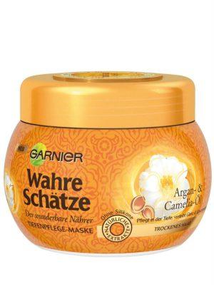 Kem ủ tóc Garnier Wahre Schatze Argan- & Camelia-Ol, 300ml