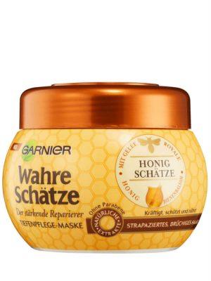 Kem Ủ Tóc Garnier Wahre Schatze Honig Schatze, 300 ml