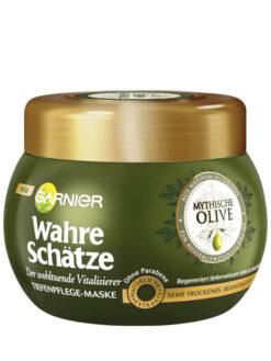 Kem ủ tóc Garnier Wahre Schatze Mythische Olive, 300 ml