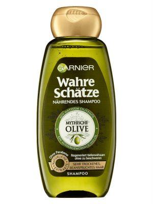 Dầu Gội Garnier Wahre Schatze Mythische Olive