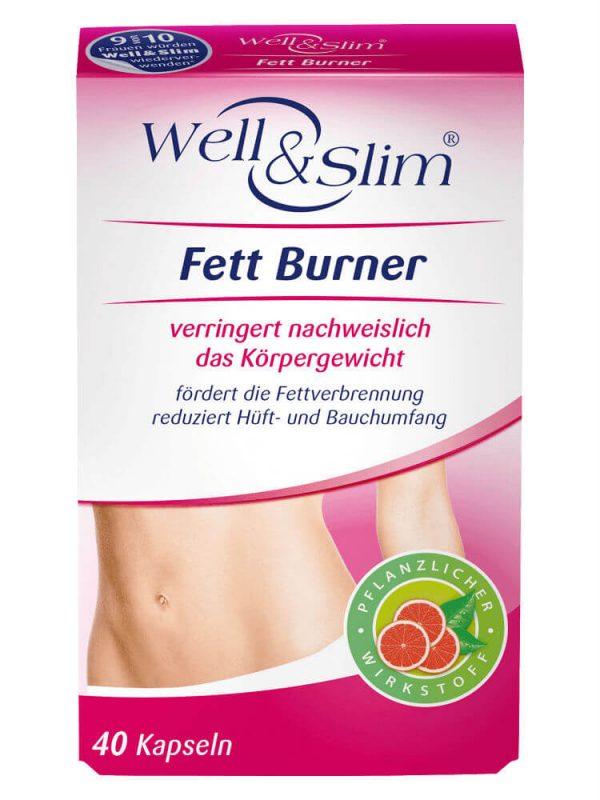 Thuốc giảm cân Well & Slim Fett Burner 40 viên nang