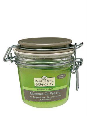 Tẩy da chết Wellness & Beauty Meersalz-Ol-Peeling, 300g