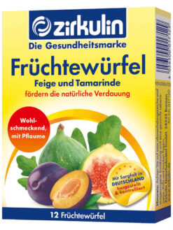 Trái Cây Giàu Chất Xơ Zirkulin Fruchtewurfel, 12 Khối