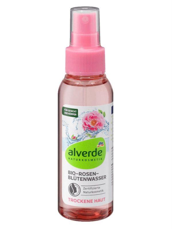 nước hoa hồng alverde-bio rosen blutenwasser 100ml