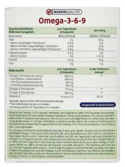 Dầu Cá Omega 3 6 9 Altapharma 60 Viên