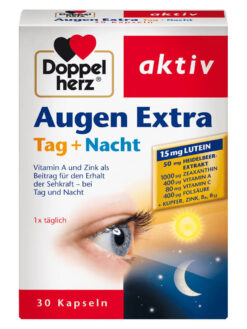 Thuốc bổ mắt augen extra Tag Nacht Doppelherz 30 viên