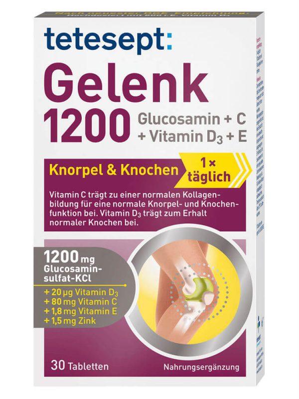 tetesept Gelenk 1200 Tabletten, 30 St