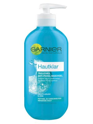 Sữa Rửa MặtGarnier Hautklar Tagliches Anti Pickel Waschgel 200ml