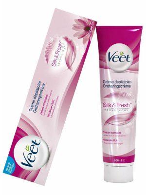 Kem tẩy lông Veet Silk & Fresh Cho Da Thường, 100 ml