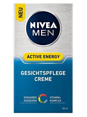 Kem Dưỡng Da Nivea Men Active Energy Gesichtspflege Creme, 50ml