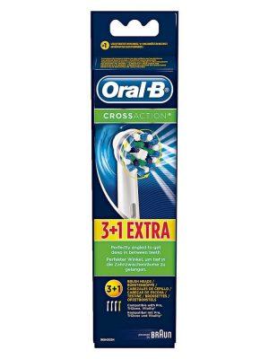Đầu bàn chải điện Oral B Cross Action Extra, vỉ 4
