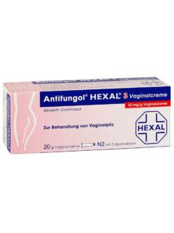 Thuốc Đặt Phụ Khoa Antifungol Hexal 3 Vaginalcreme 20mg/g, 20g