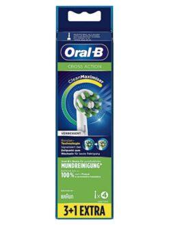 Đầu bàn chải điện Oral B Cross Action, vỉ 4