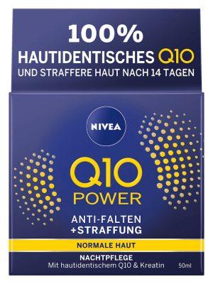 Kem dưỡng da Nivea Q10 Power Anti Falten Nachtpflege, 50ml