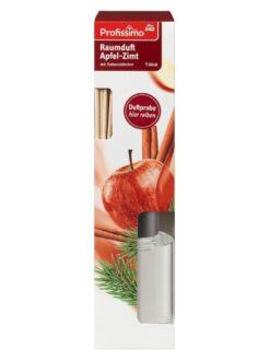 Tinh dầu thơm phòng Profissimo Raumduft Apfel Zimt, 90 ml