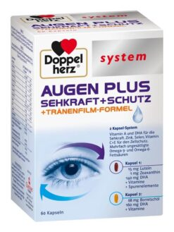 Thuốc bổ mắt Doppelherz system Augen Plus 60 viên