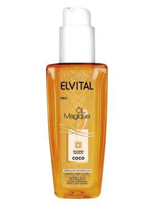 Tinh dầu dưỡng tóc Loreal Elvital OL Magique Coco Haarol, 90 ml