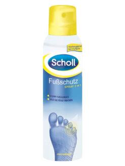 Xịt Khử Mùi Hôi Chân Scholl Fusschutz Spray 2 in 1, 150 ml