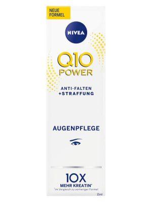 Kem dưỡng mắt Nivea Q10 Power Anti Falten Augenpflege, 15 ml