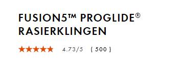 Đánh giá chất lượng lưỡi cạo râu gillette fusion proglide 5, vỉ 4