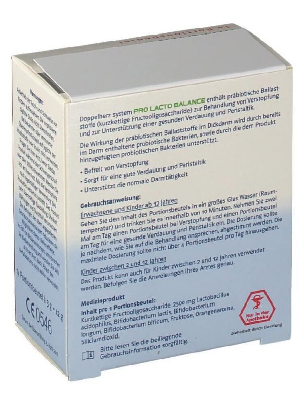 Thuốc tiêu hóa Doppelherz Pro Lacto Balance