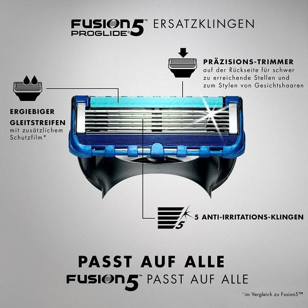 Công nghệ lưỡi cạo râu Gillette Fusion Proglide 5