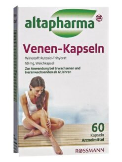 Thuốc Giãn Tĩnh Mạch Altapharma Venen Kapseln, 60 Viên