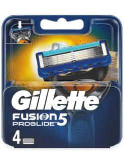 Lưỡi cạo râu gillette fusion proglide 5, vỉ 4