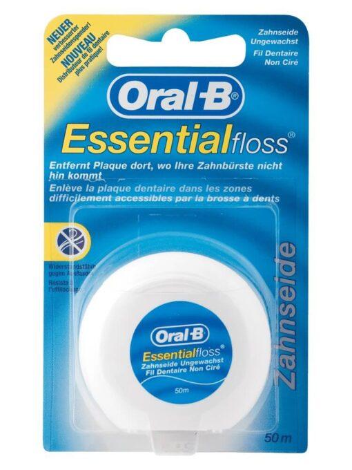 Chỉ Nha Khoa Oral B Essential Floss, 50 m