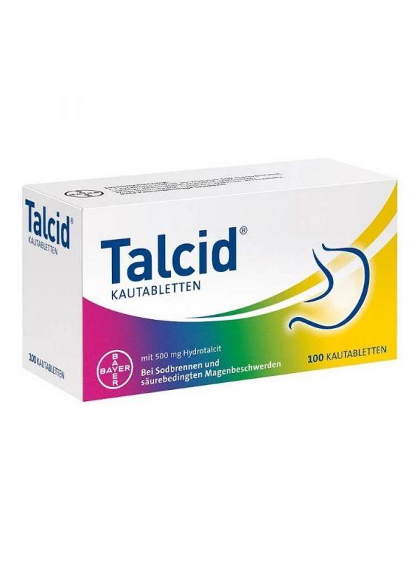 Thuốc dạ dày Talcid Kautabletten 500 mg