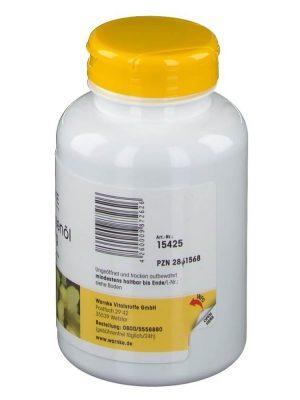 Tinh Dầu Hoa Anh Thảo Warnke Nachtkerzenol 500 mg, 250 viên