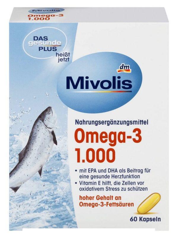 Mivolis Omega-3 1000, 60 viên