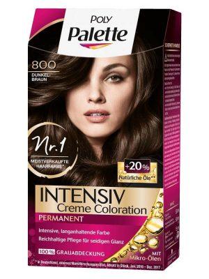 Thuốc nhuộm tóc Poly Palette Dunkelbraun 800