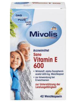Mivolis Vitamin E 600, 40 viên