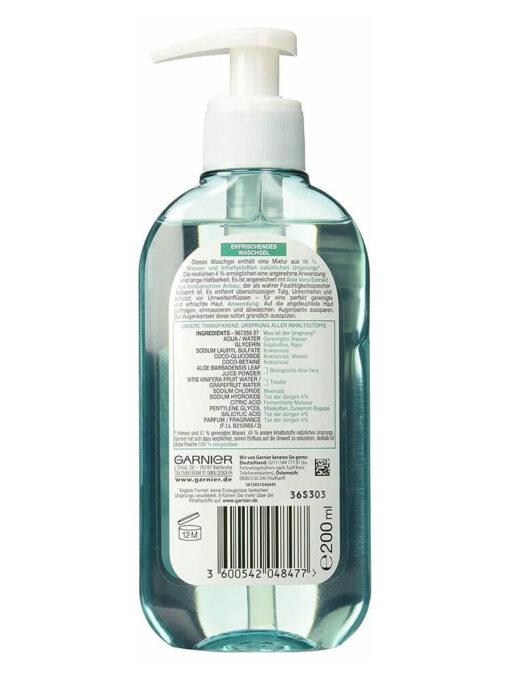Sữa rửa mặt Garnier chiết xuất lô hội, 200ml