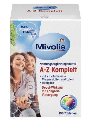 Vitamin tổng hợp Mivolis A Z Komplett 100 viên