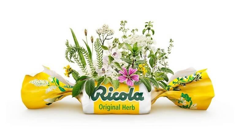 Kẹo ngậm thảo dược Ricola